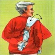 oefenen met handdoek